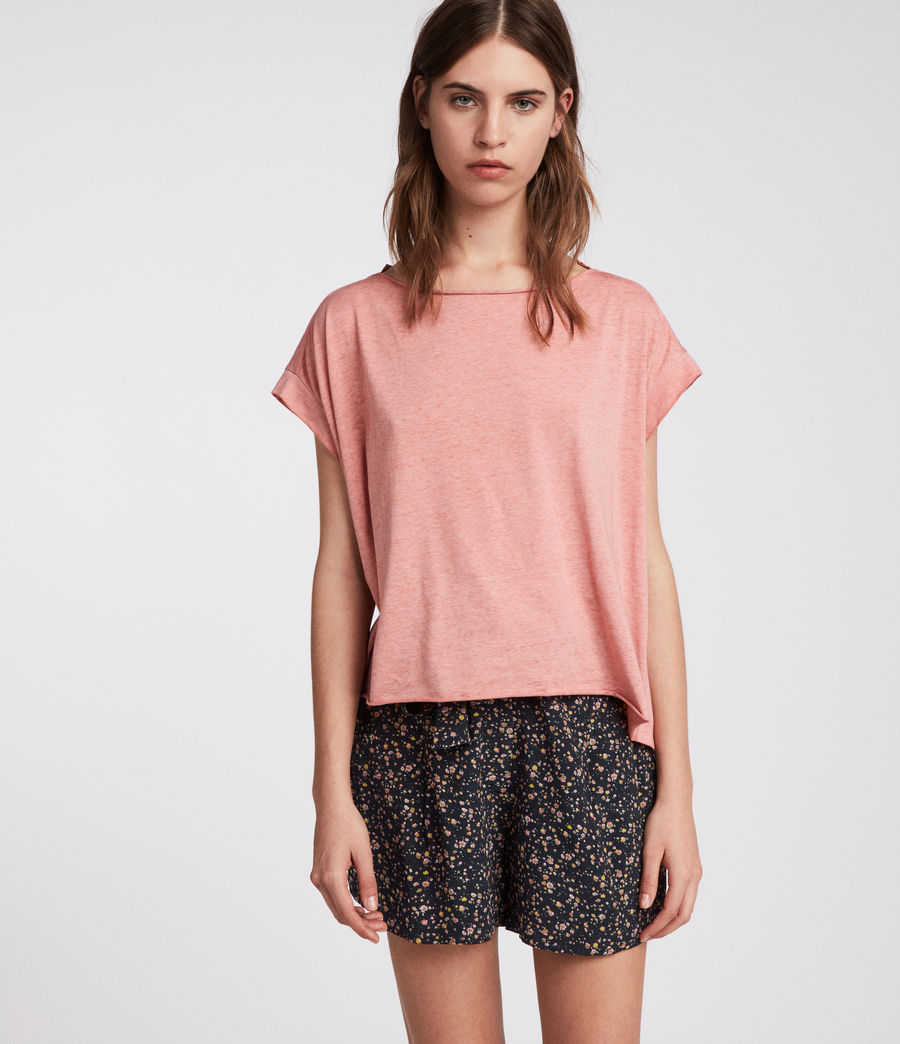 Womens Pina Devo T-Shirt (light_orchid_pink) - Image 1