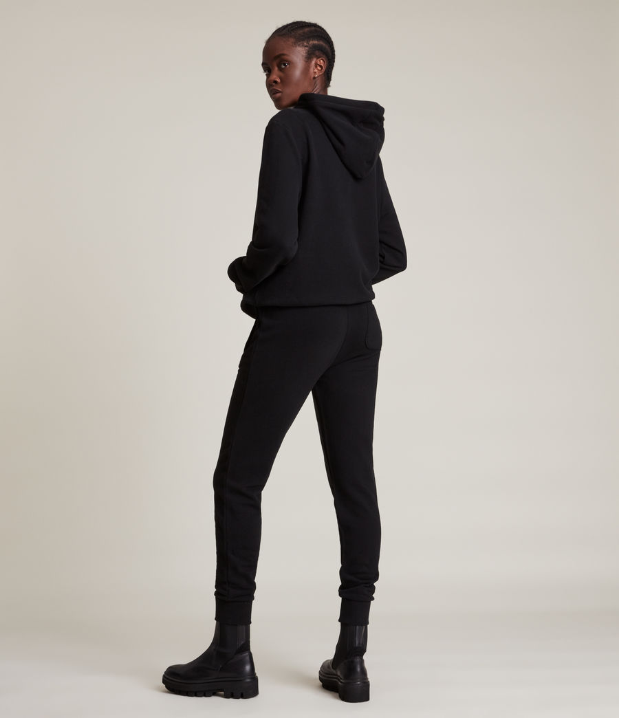 Womens Alden Hoodie (black) - Image 5