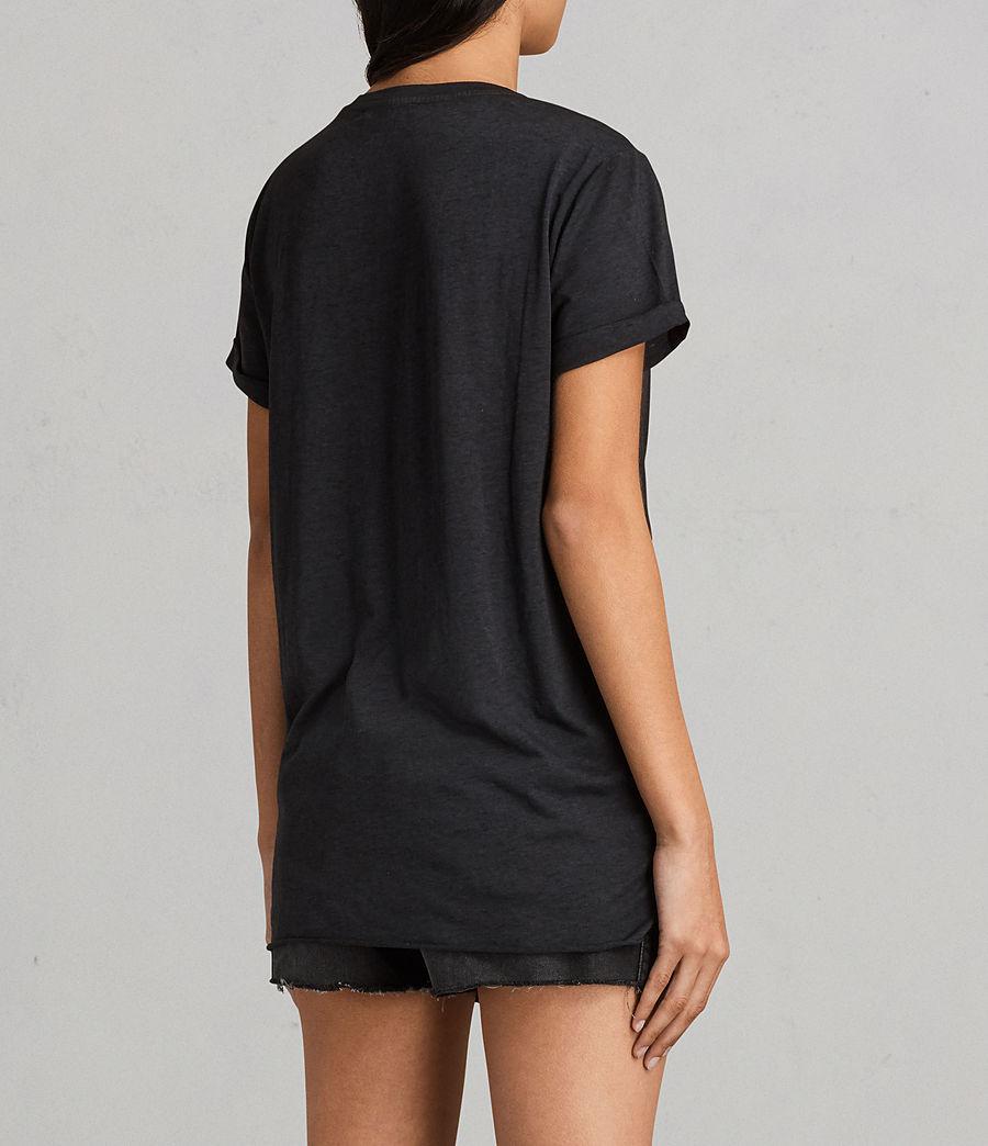 Womens Riviera Devo T-Shirt (dark_night_blue) - Image 3