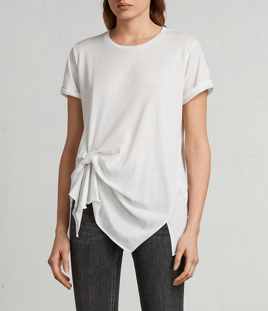 Donne T-shirt Riviera Devo (smog_white) - Image 1