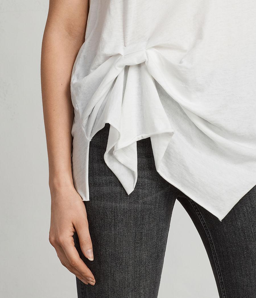 Women's Riviera Devo T-Shirt (smog_white) - Image 2