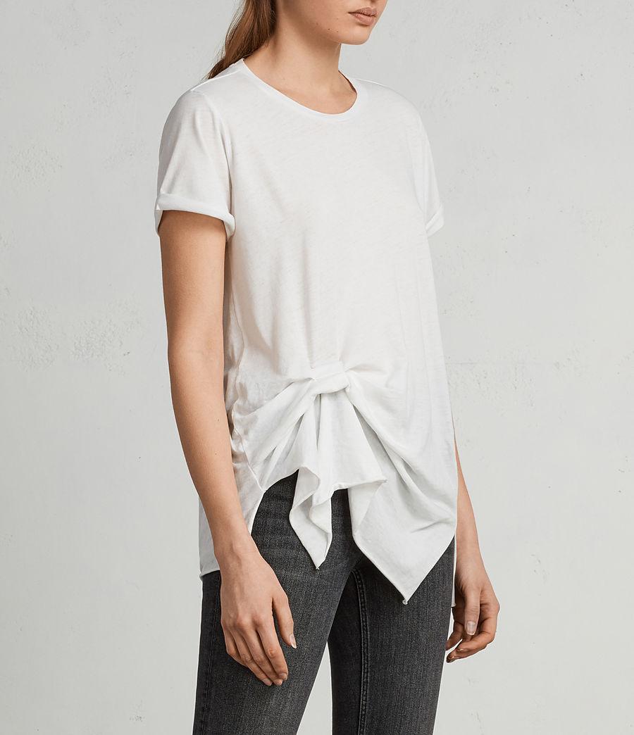 Women's Riviera Devo T-Shirt (smog_white) - Image 3