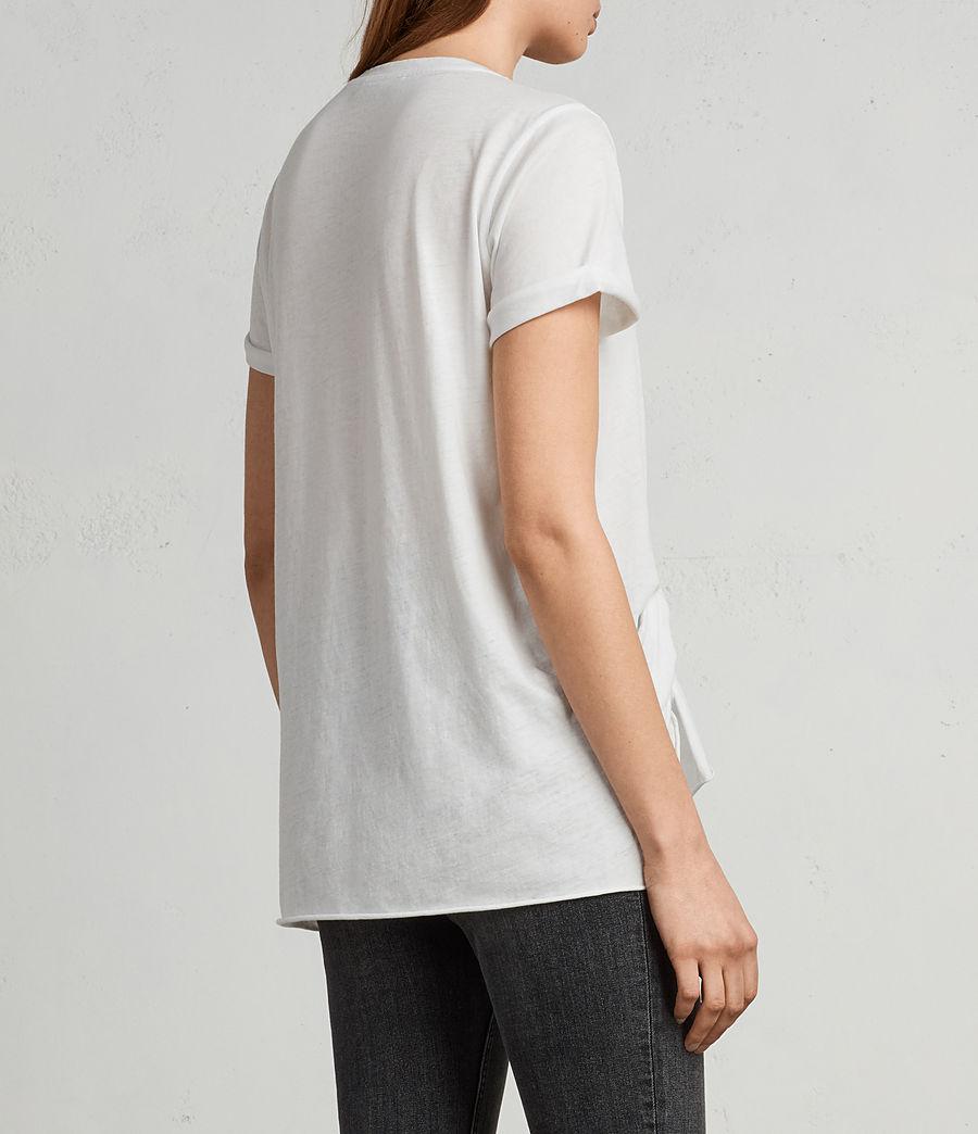Women's Riviera Devo T-Shirt (smog_white) - Image 4