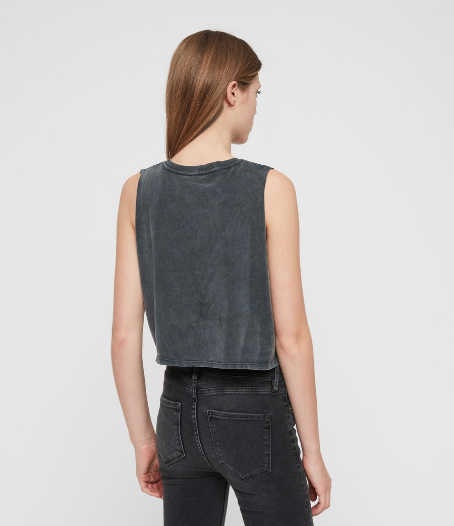 Womens Tujen Tank (acid_washed_black) - Image 6