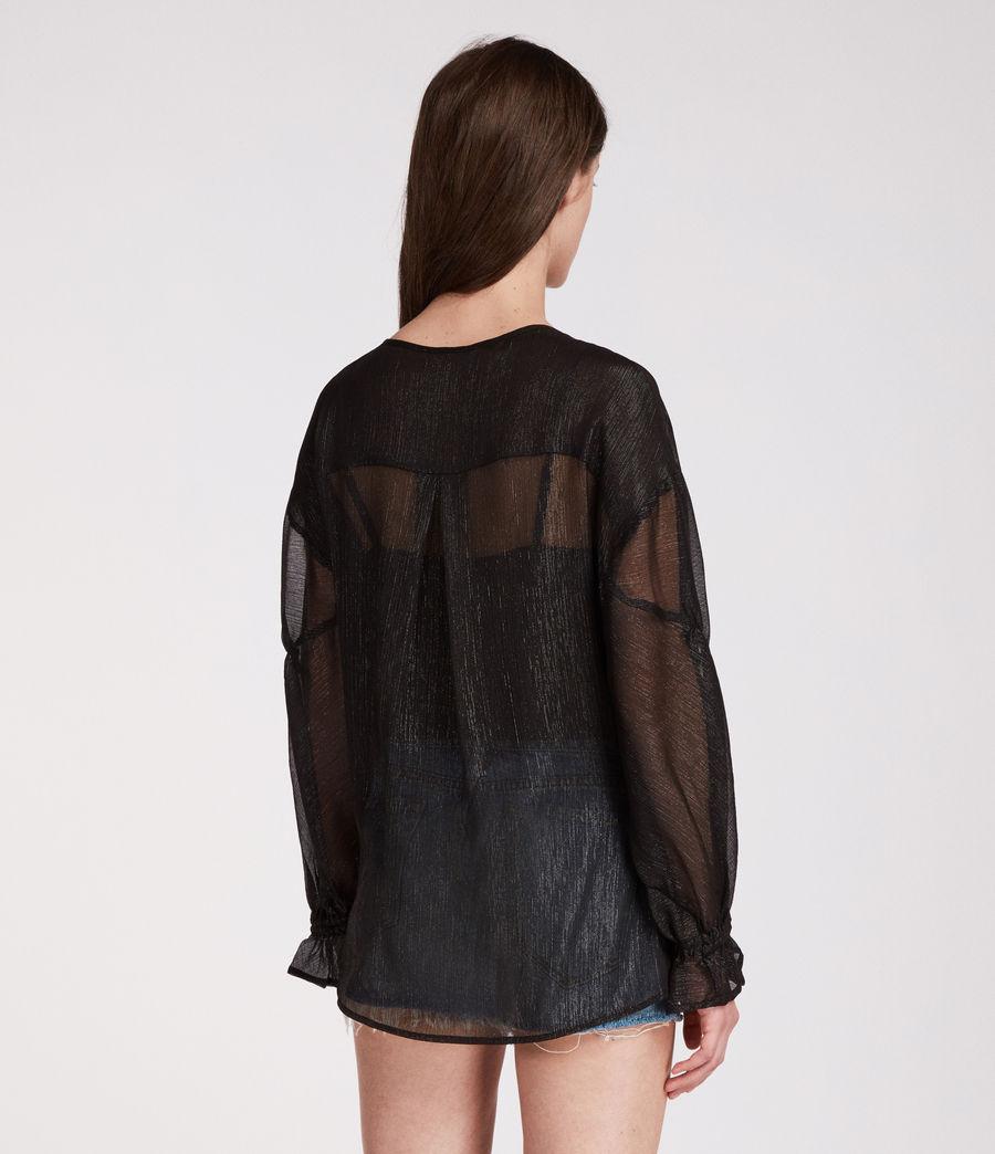 Femmes Top Hattie (black) - Image 4