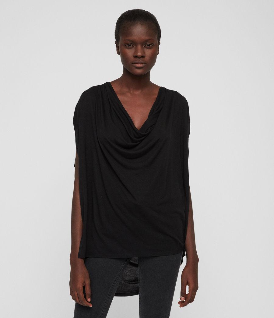 Womens Lisen T-Shirt (black) - Image 1