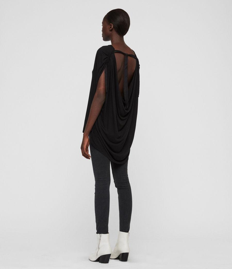 Womens Lisen T-Shirt (black) - Image 5