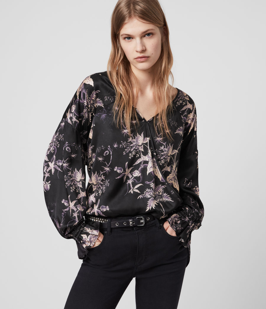 Donne Blusa Penny Evolution - Con stampa (midnight_purple) - Image 1