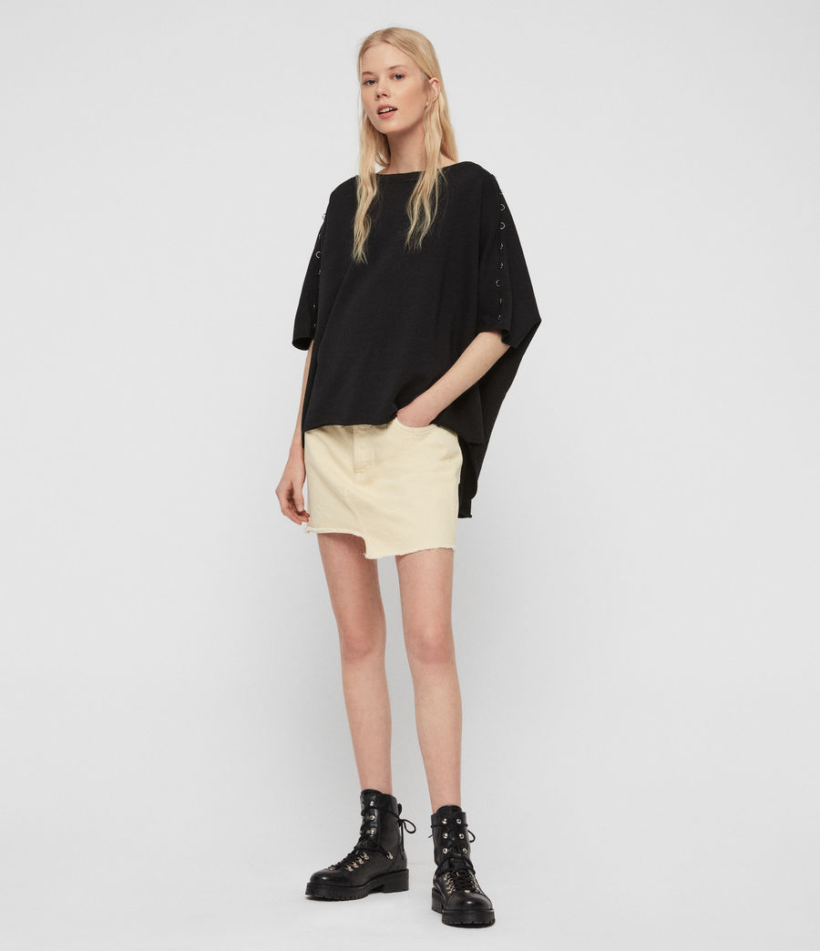 Womens Daner Sweatshirt (black) - Image 3