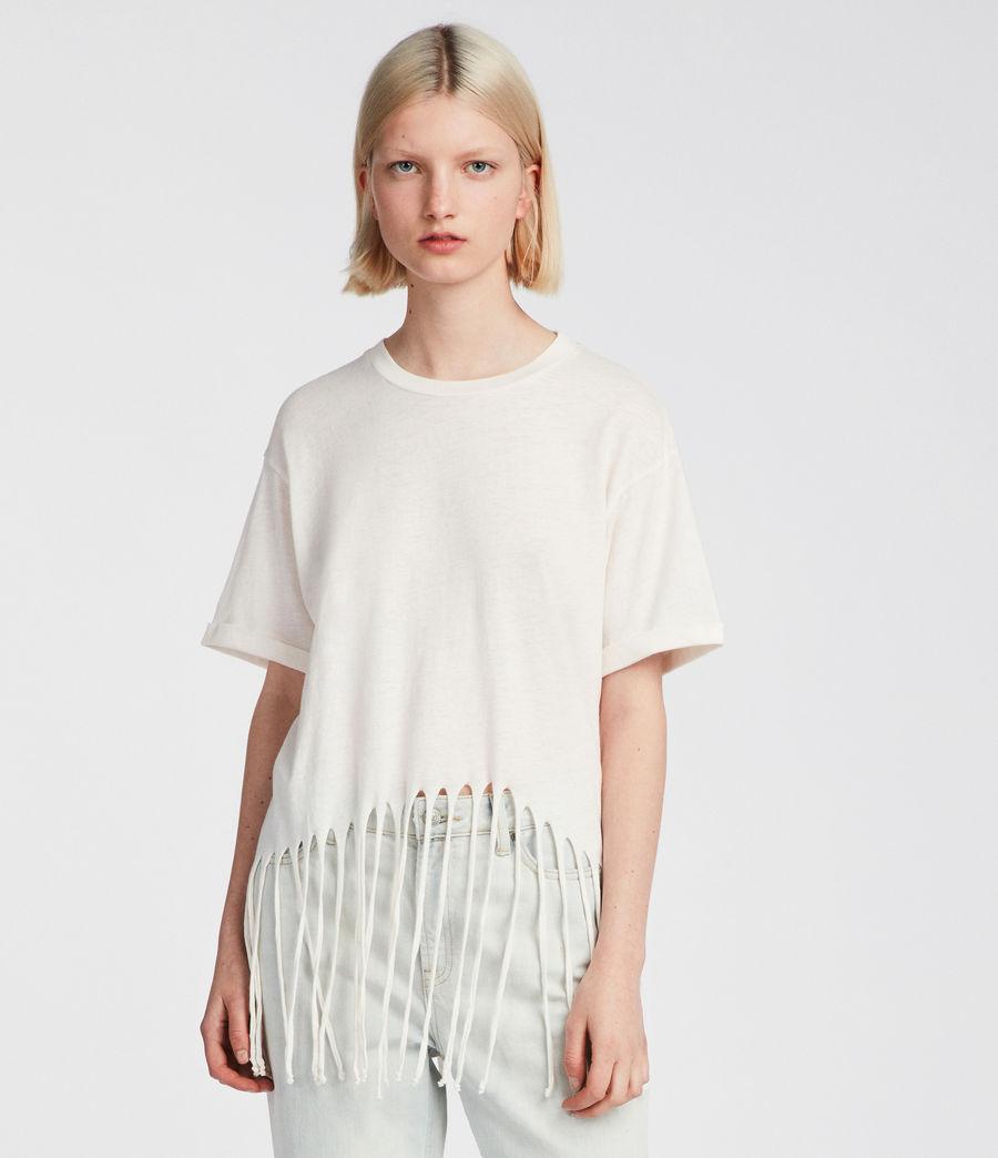 Womens Tami T-Shirt (vintage_white) - Image 1