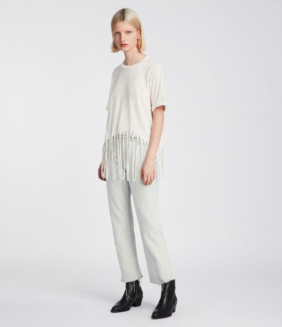 Womens Tami T-Shirt (vintage_white) - Image 2