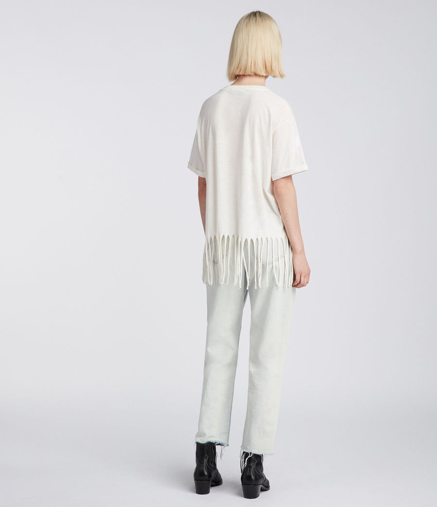 Womens Tami T-Shirt (vintage_white) - Image 4