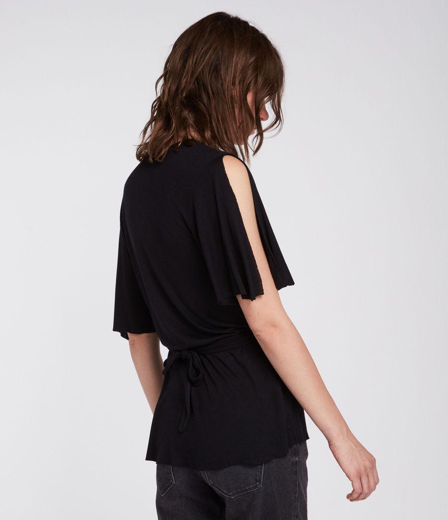 Womens Amira Top (black) - Image 5