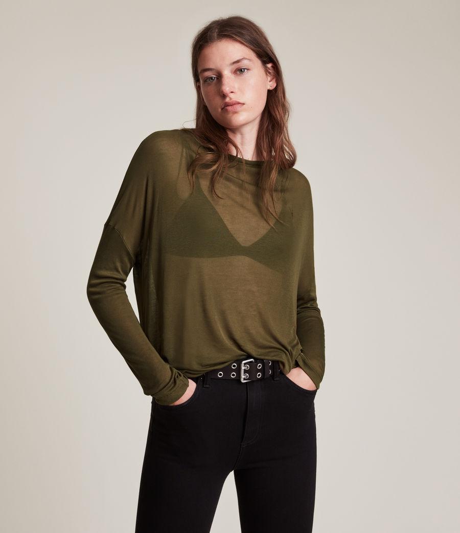 Women's Francesco Rita Tee (khaki_green) - Image 1