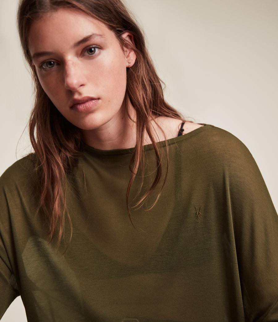 Women's Francesco Rita Tee (khaki_green) - Image 2