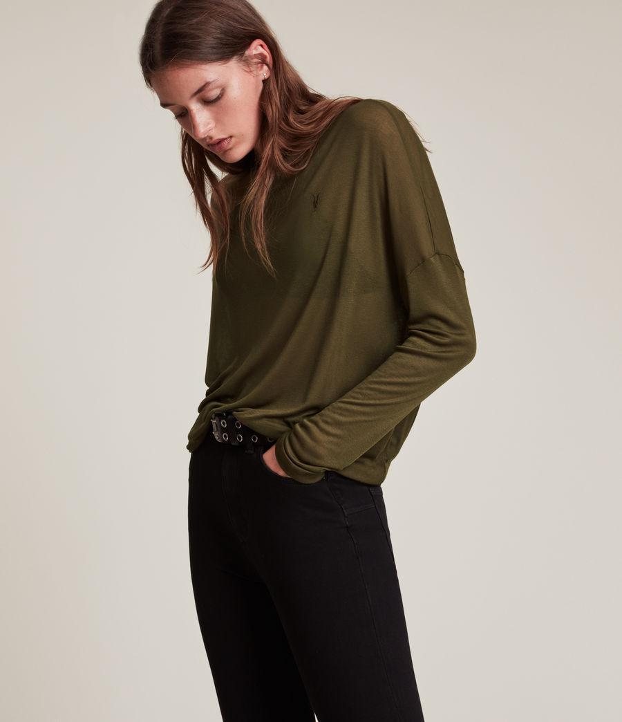 Women's Francesco Rita Tee (khaki_green) - Image 3