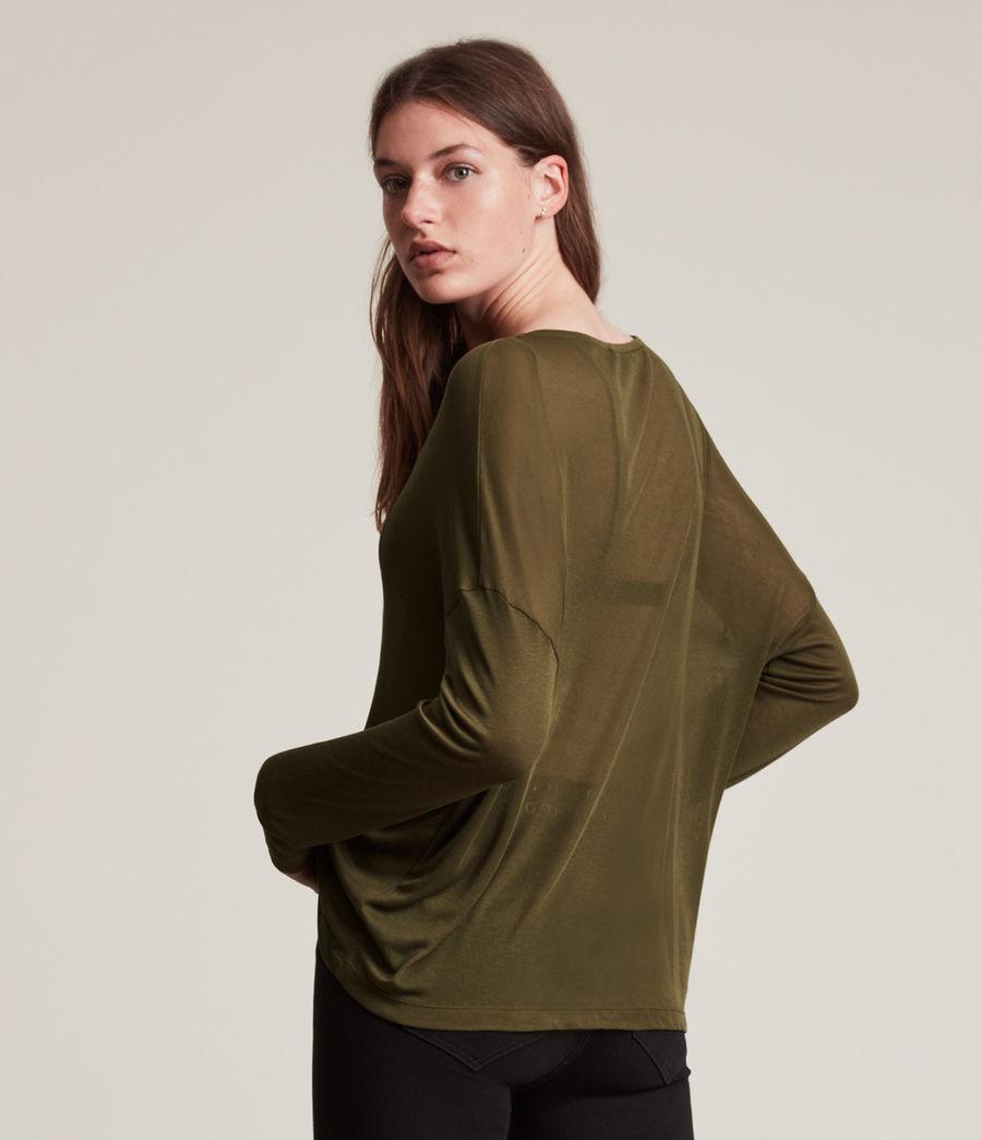 Women's Francesco Rita Tee (khaki_green) - Image 5