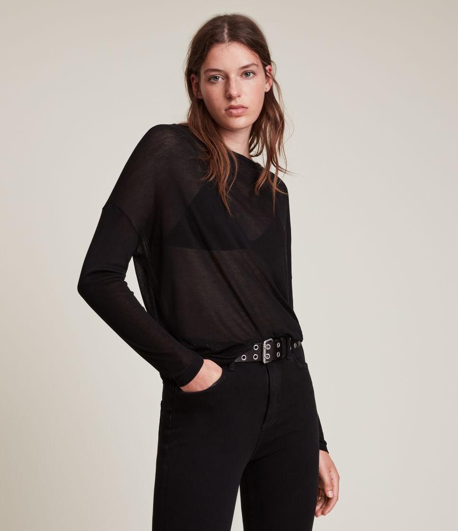Women's Francesco Rita T-Shirt (black) - Image 1
