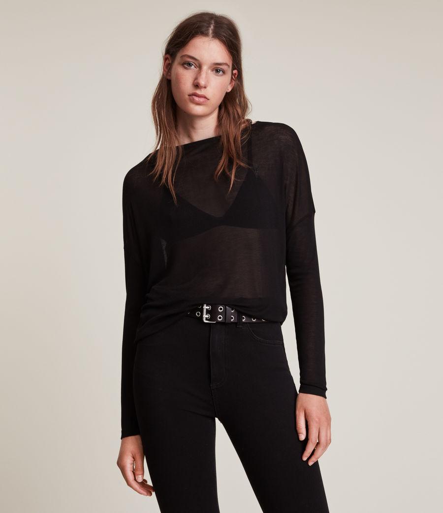 Women's Francesco Rita T-Shirt (black) - Image 3