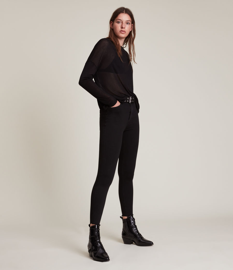 Women's Francesco Rita T-Shirt (black) - Image 4