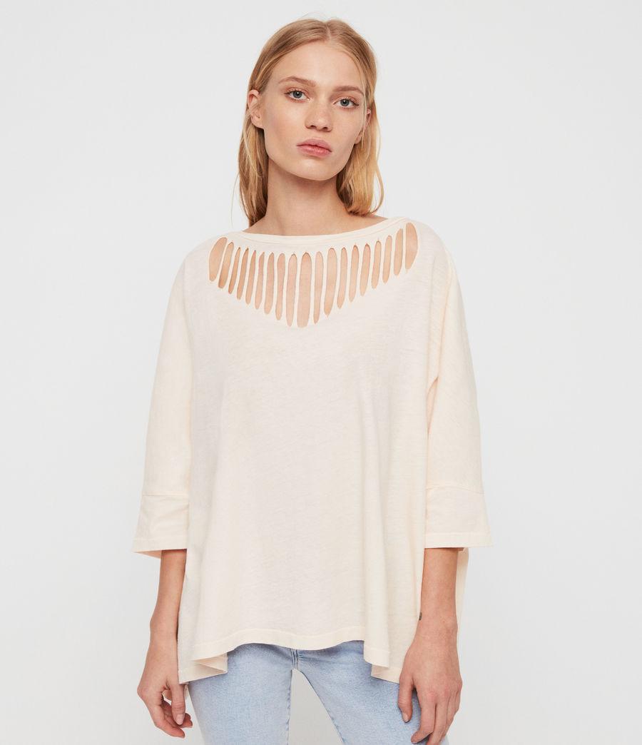 Femmes T-Shirt Plira Slash (pale_pink) - Image 2