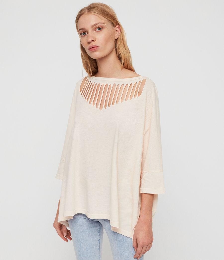 Femmes T-Shirt Plira Slash (pale_pink) - Image 5