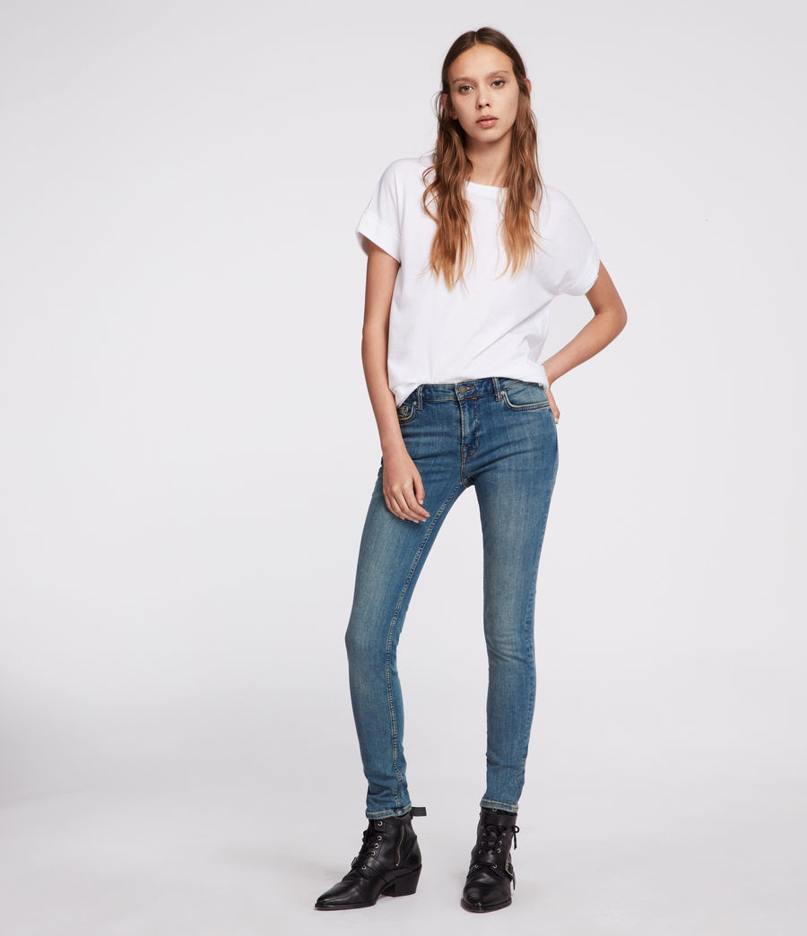Womens Imogen Boy T-Shirt (chalk_white) - Image 2