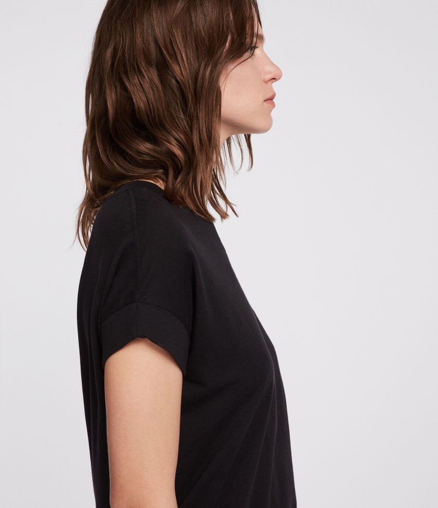 Womens Imogen Boy T-Shirt (black) - Image 2