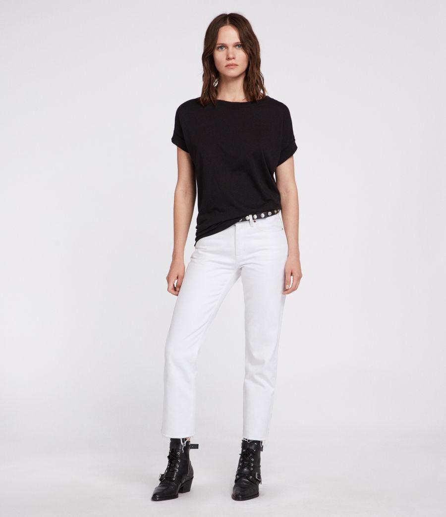 Womens Imogen Boy T-Shirt (black) - Image 3