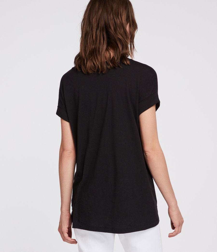 Womens Imogen Boy T-Shirt (black) - Image 4