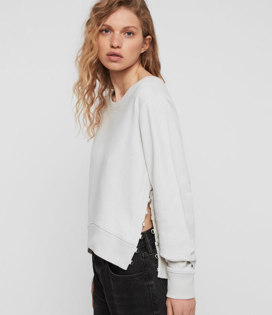 Womens Daner Sweatshirt (ivory_white) - Image 1