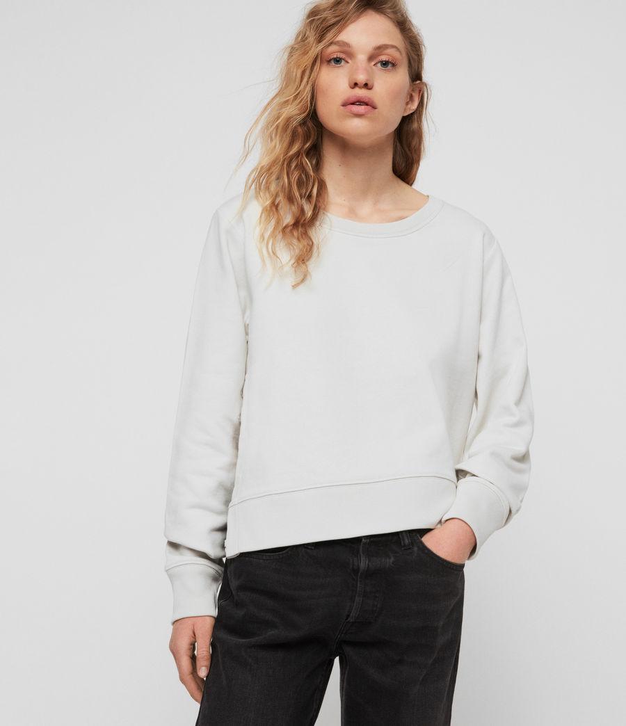 Womens Daner Sweatshirt (ivory_white) - Image 2