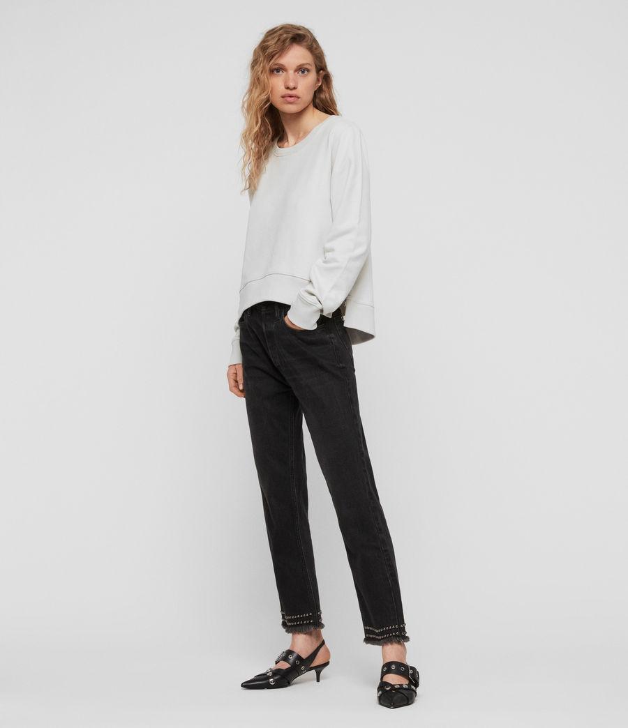 Womens Daner Sweatshirt (ivory_white) - Image 3