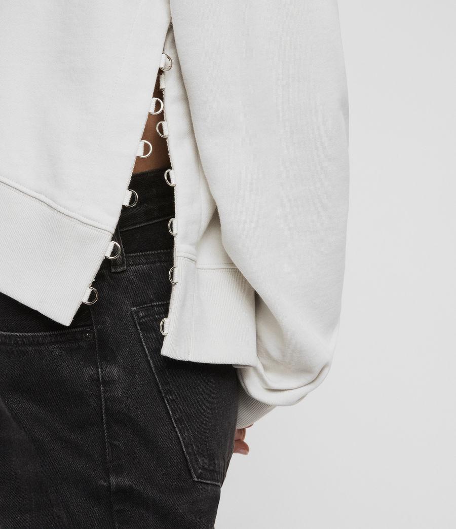 Womens Daner Sweatshirt (ivory_white) - Image 4