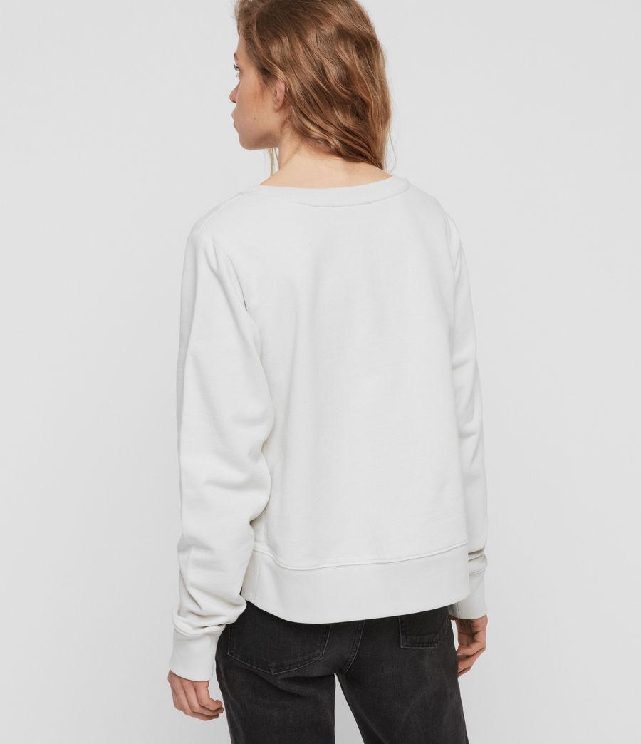 Womens Daner Sweatshirt (ivory_white) - Image 5