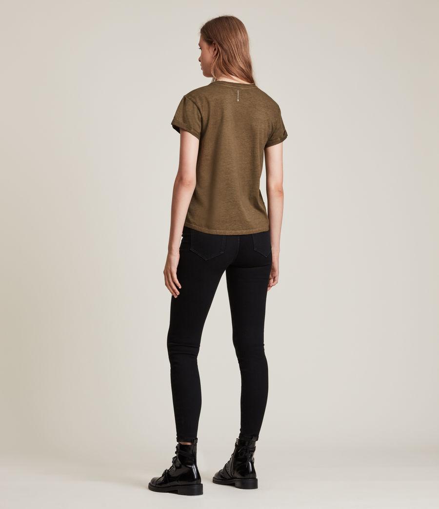 Women's Anna T-Shirt (khaki_green) - Image 4