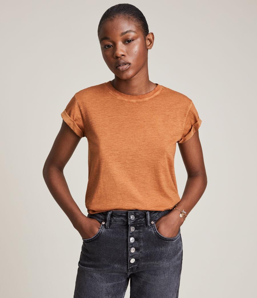 Women's Anna T-Shirt (rust_orange) - Image 1