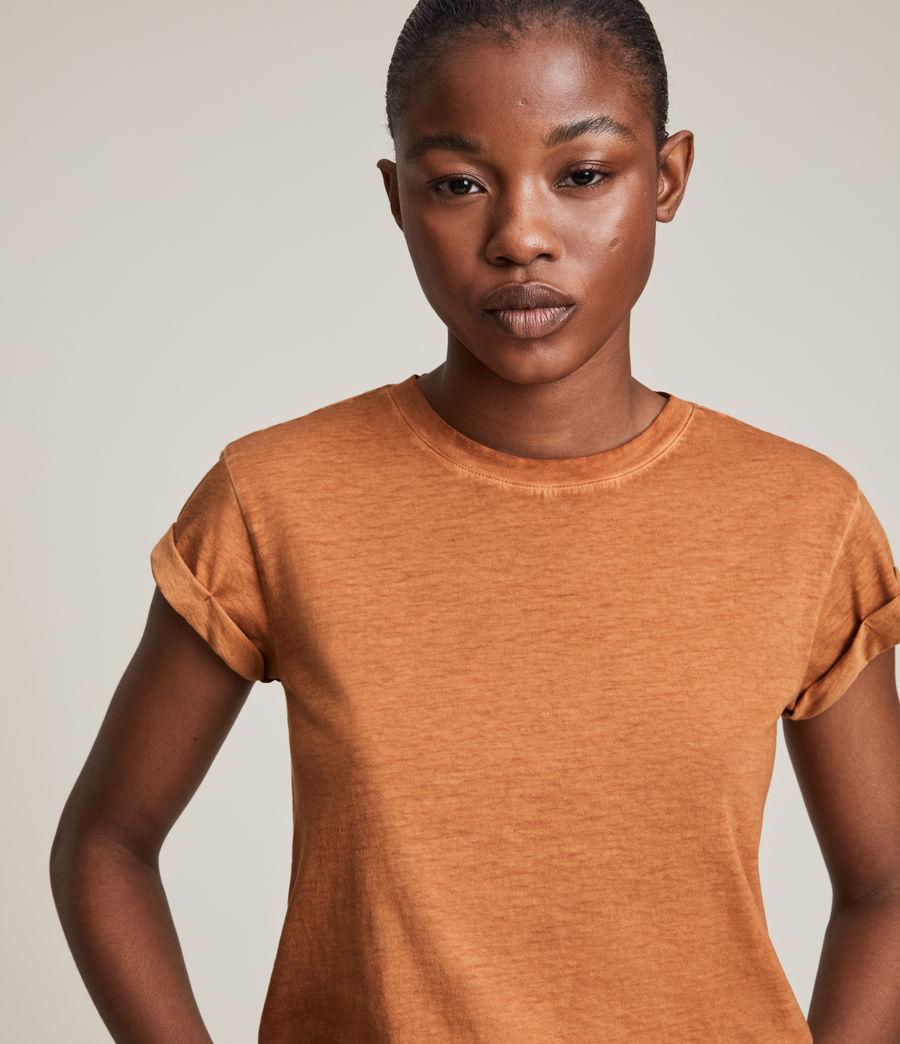 Women's Anna T-Shirt (rust_orange) - Image 2