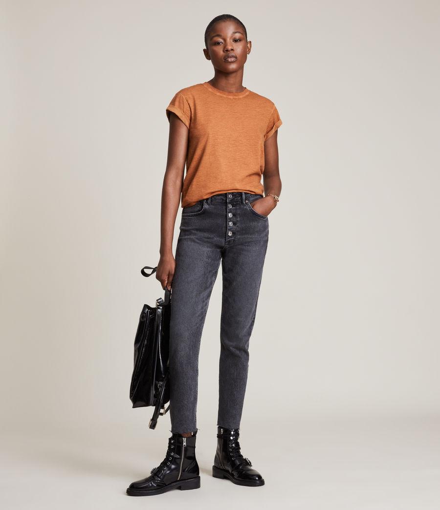 Women's Anna T-Shirt (rust_orange) - Image 3