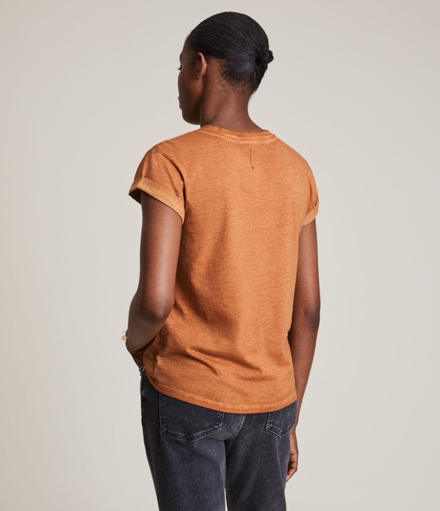 Women's Anna T-Shirt (rust_orange) - Image 4