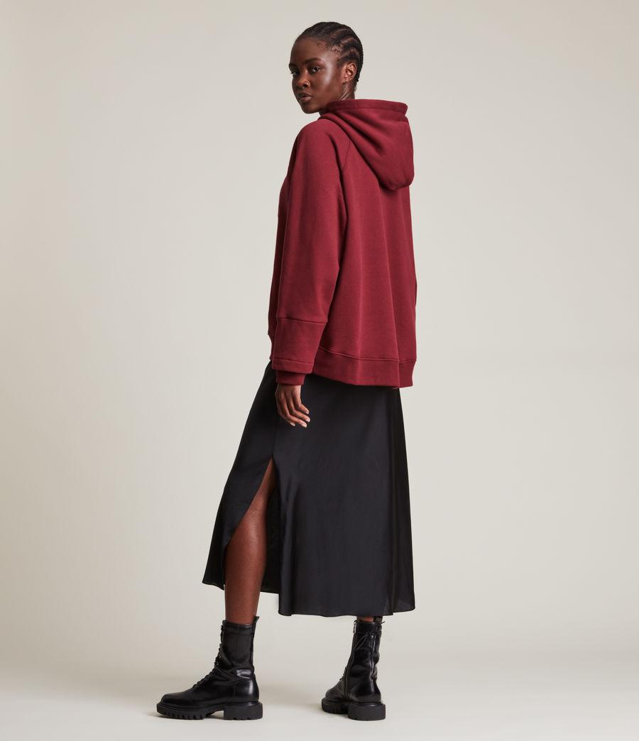 Women's AllSaints Lucia Hoodie (cherry_oak_red) - Image 5