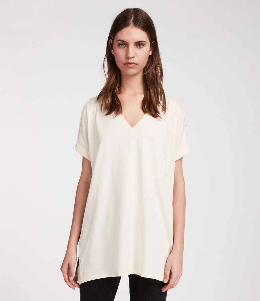 Mujer Camiseta Cora V (vintage_white) - Image 1