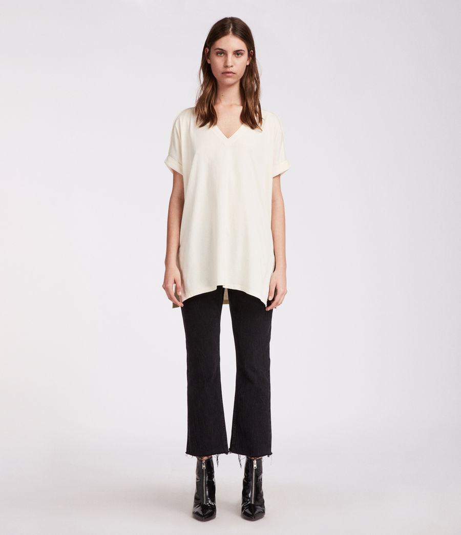 Mujer Camiseta Cora V (vintage_white) - Image 3