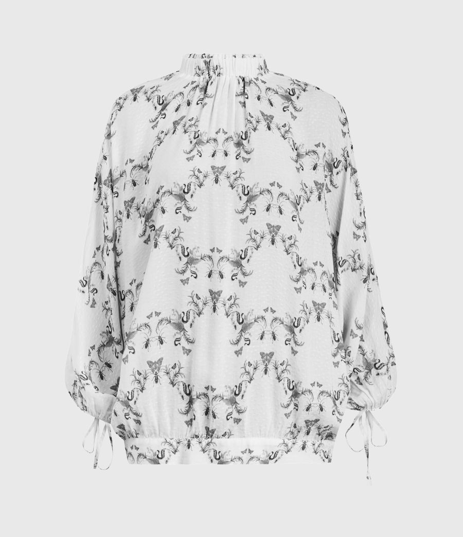 Donne Rora Assam Top (white) - Image 2