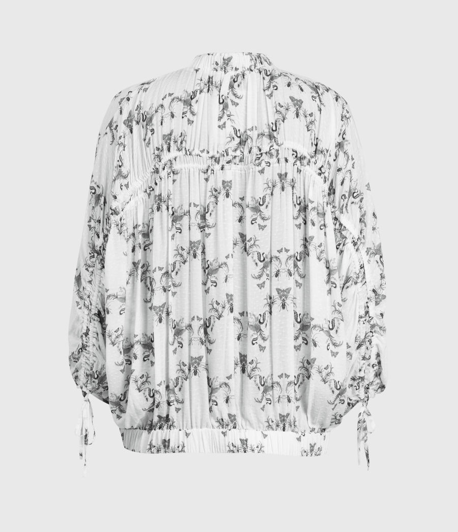 Donne Rora Assam Top (white) - Image 3