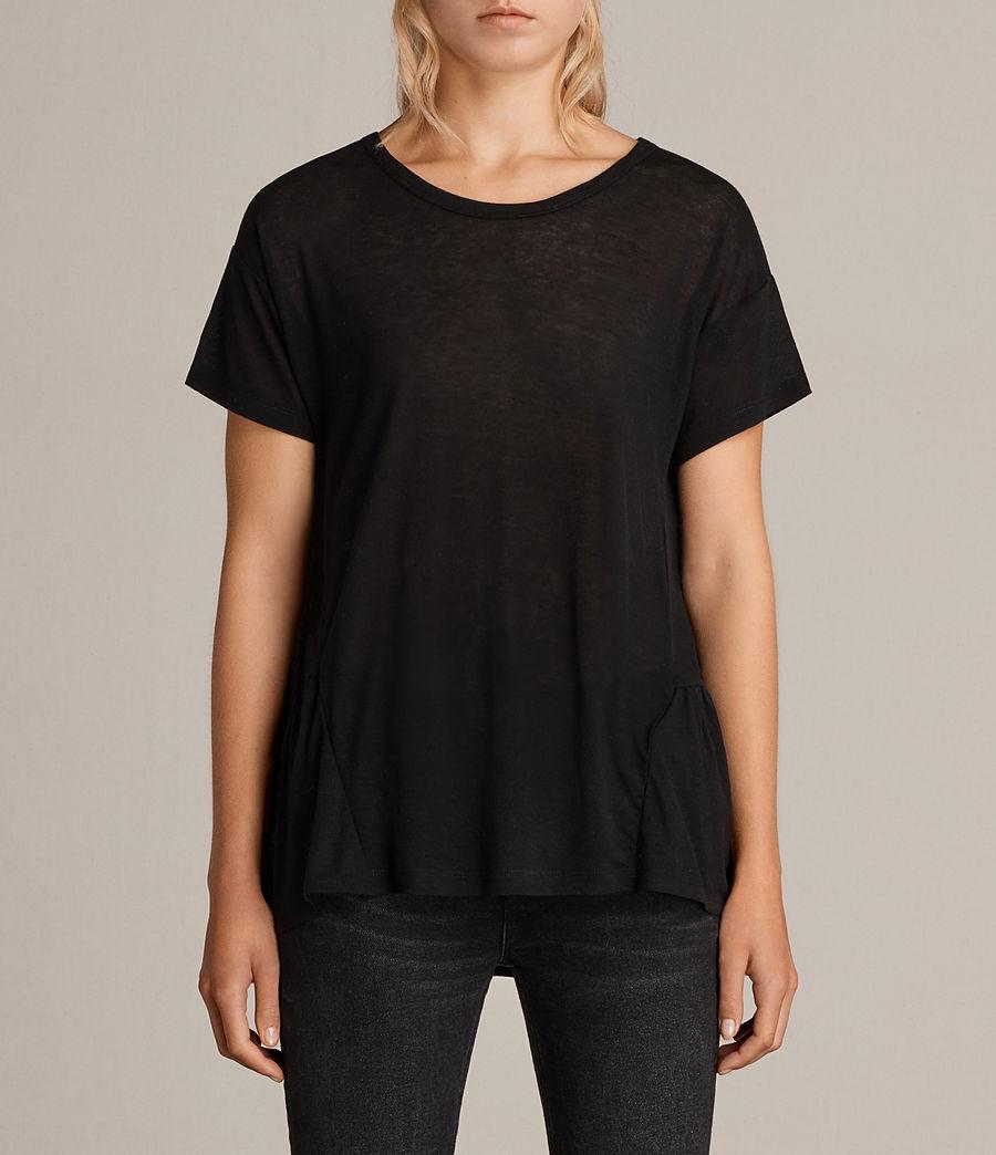 Womens Zita Tee (black) - Image 1