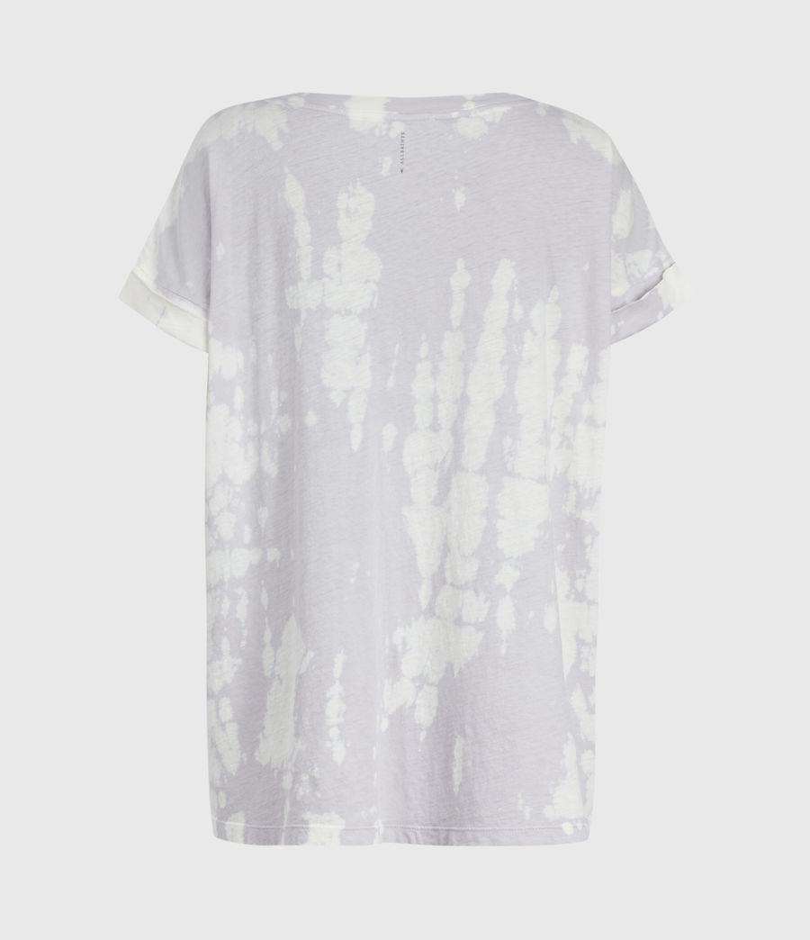 Mujer Tie Dye Imogen Boy T-Shirt (lavender) - Image 3