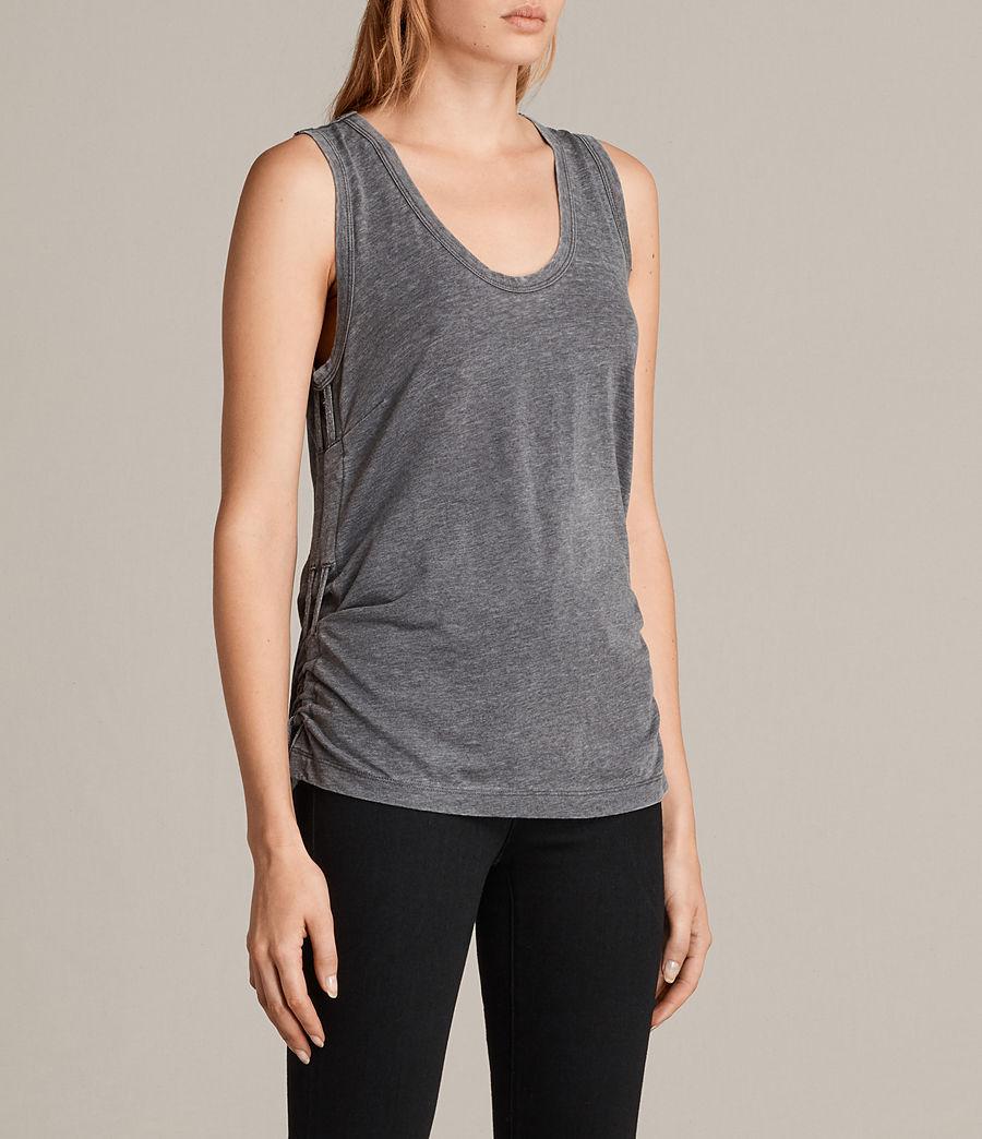 Mujer Camiseta Molly Devo (coal_grey) - Image 3