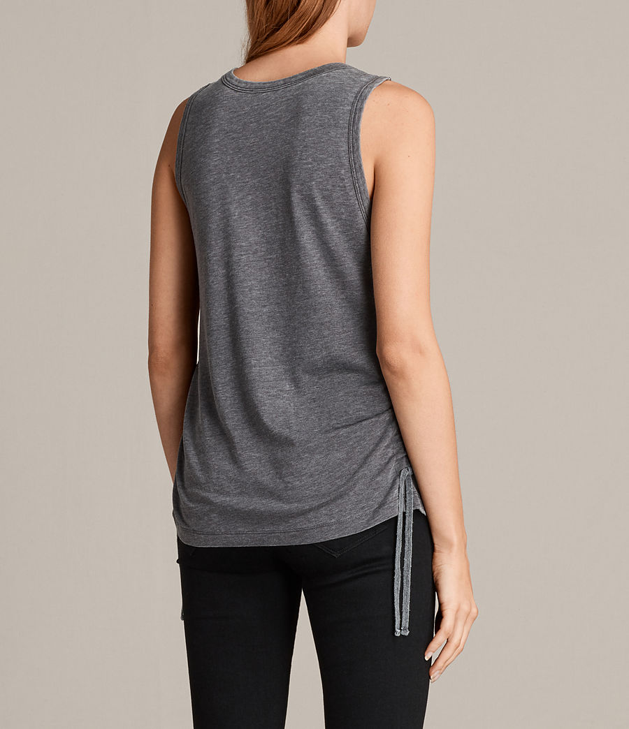 Mujer Camiseta Molly Devo (coal_grey) - Image 4