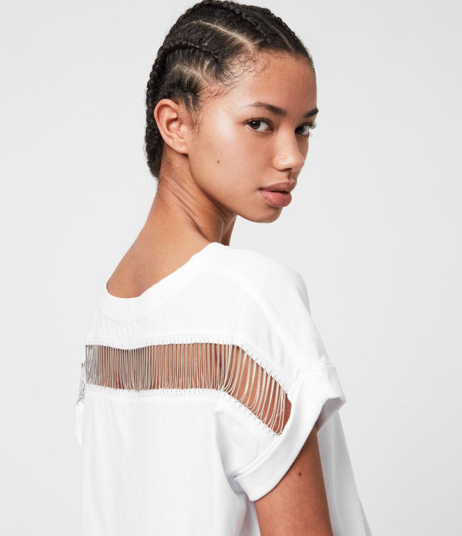 Women's Imogen Boy Jaine T-Shirt (optic_white) - Image 1